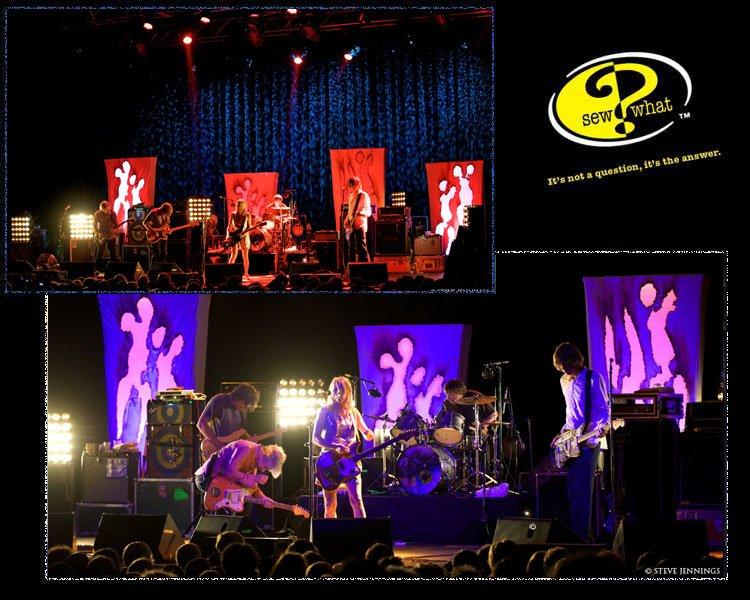 Concert Backdrops, Custom Band Backdrops - photo#10