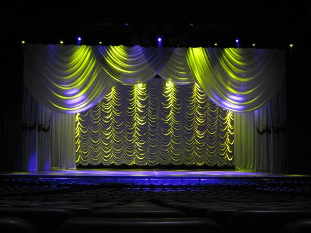 How Lighting Can Affect Your Wedding: Austrian Drapery Series (Part 3): How Lighting And