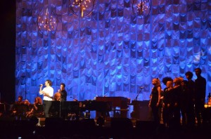 Fabric-squares-backdrop-Josh-Groban-Tour