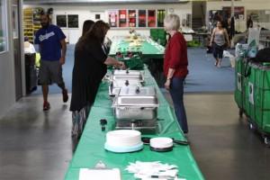 Challenge 1 Food Table