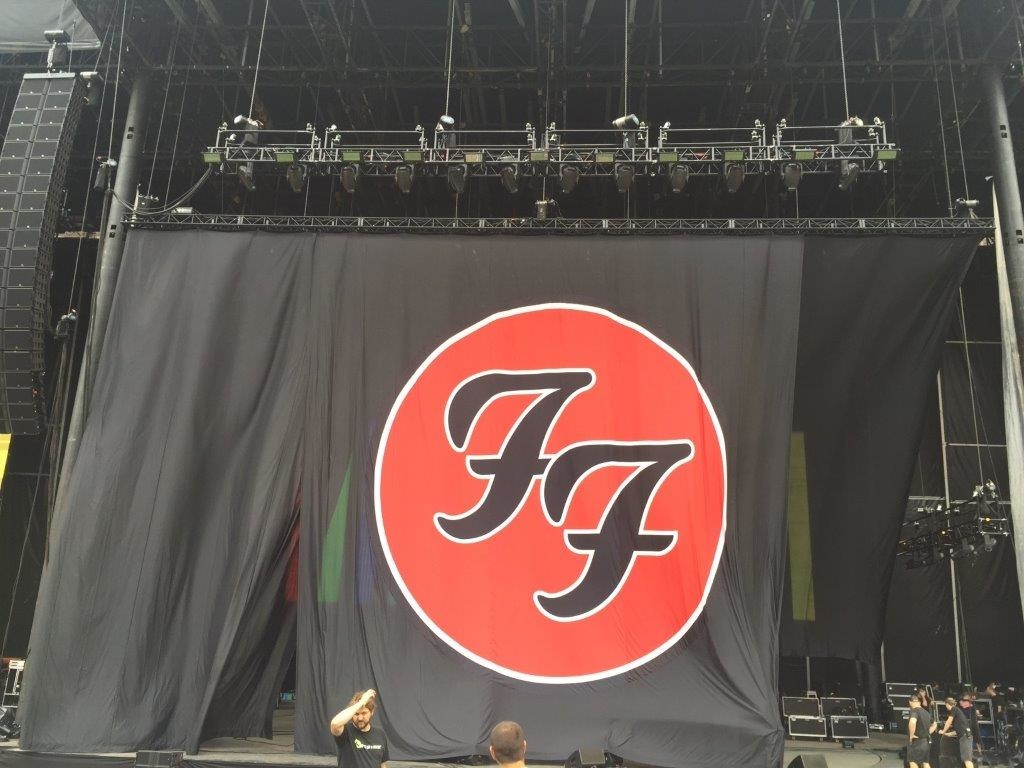 Foo Fighters Digital Print