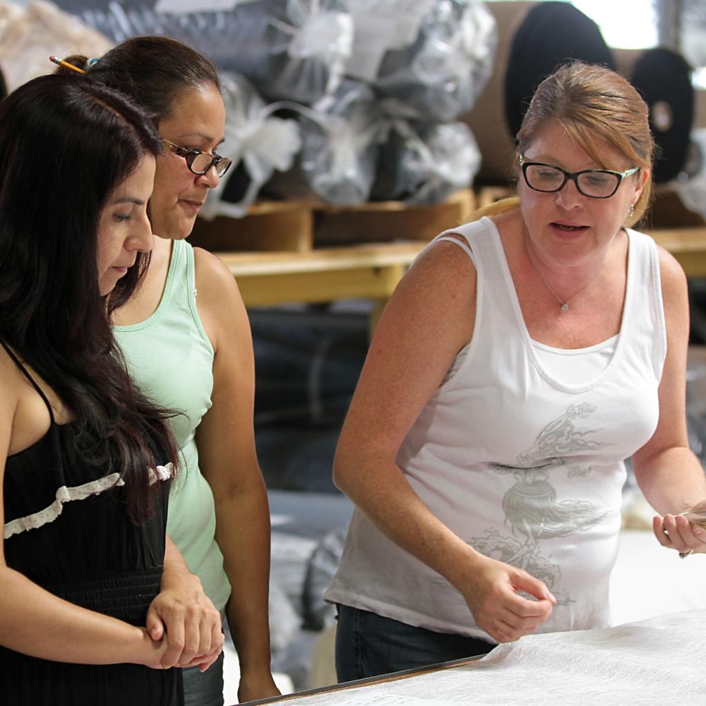 Inspecting-Fabric