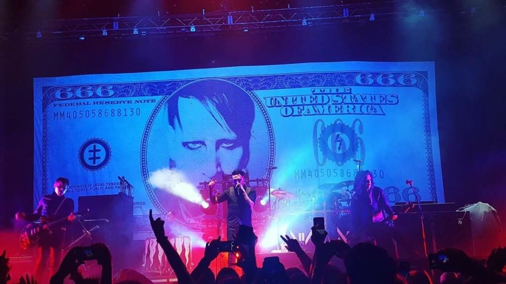 Marilyn Manson Cut Drop