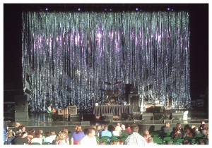 Mylar Rain Curtains Add Shimmery Sparkly Drama To Many Kinds Of Stage Designs