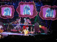 Sew What? Willy Wonka, stage curtains, stage drapes, theatrical drapery, theatrical curtains, stage backdrops
