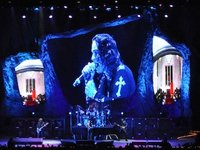 Sew What? stage drapes for Black Sabbath