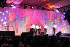 Sew What? Broadway, stage curtains, stage drapes, theatrical drapery, stage backdrops, curtain tracks