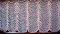 Sew What? Austrian, stage curtains, stage drapes, theatrical drapery, theatrical curtains, stage backdrops