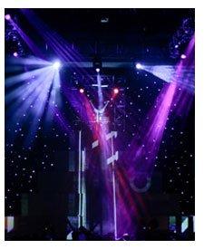 Stardrops - LED Stardrops Curtain Rental, LED Stardrops Backdrop